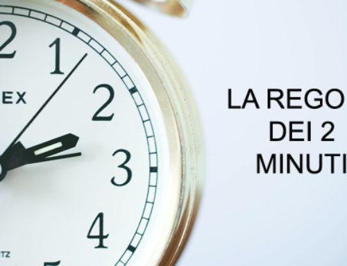 La regola dei 2 minuti: il modo più semplice per non procrastinare